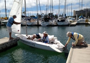 volunteer for Challenged Sailors