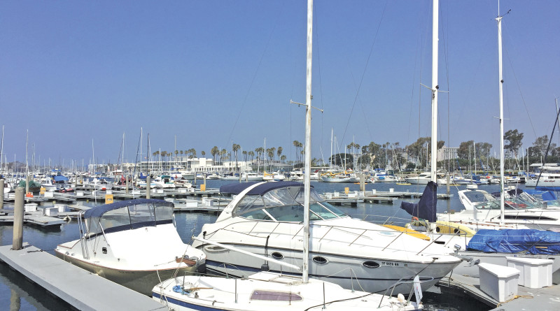 Marina del Rey TMDL regulations for copper paint on boat hulls