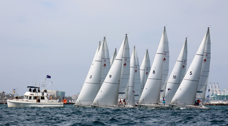 POLA Harbor Cup Sailboats