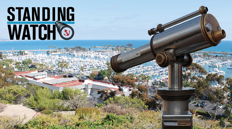 Standing Watch Catalina Island Vons