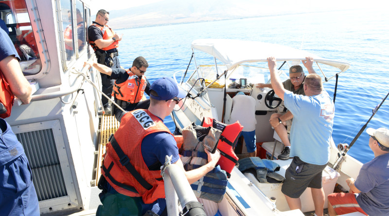 Coast Guard, Hawaii Department of Natural Resources conduct Operation Kohola Guardian patrols off Maui
