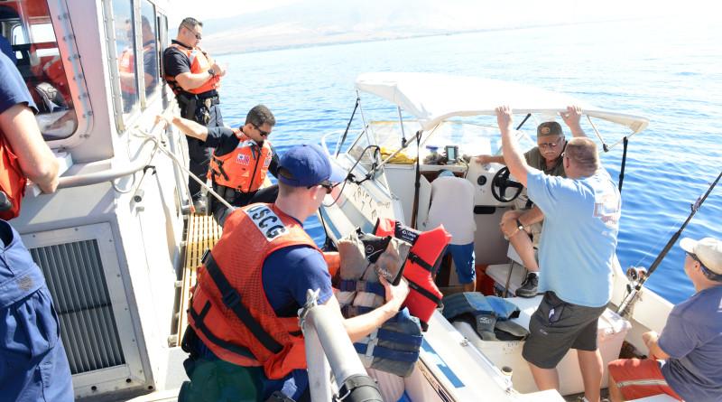 Coast Guard, Hawaii Department of Natural Resources conduct Operation Kohola Guardian patrols off Maui