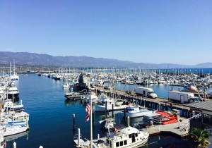 Santa Barbara Harbor (Parimal M. Rohit photo)