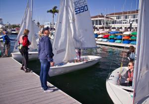 Competitive sailor teaches Junior Sailing in Corona del Ma