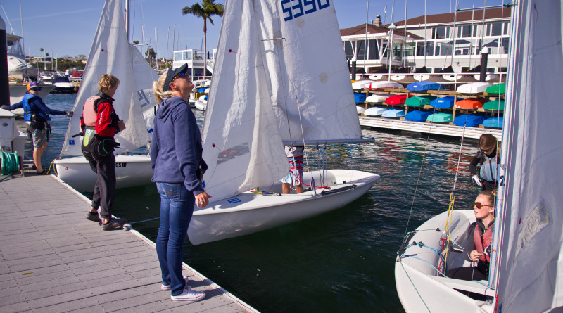 Competitive sailor teaches Junior Sailing in Corona del Ma