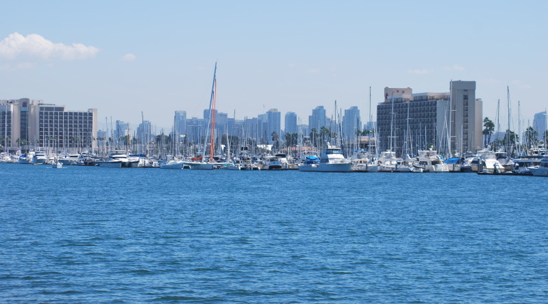 Harbor Island in San Diego