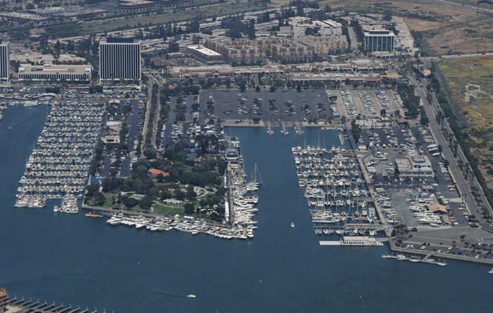 Transient Docks in Marina del Rey