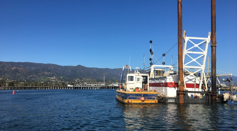 Santa Barbara Harbor Dredge - City of Santa Barbara photo