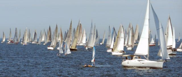 Border Run sailing race