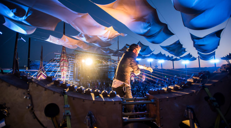 Earth Harp - world largest instrument