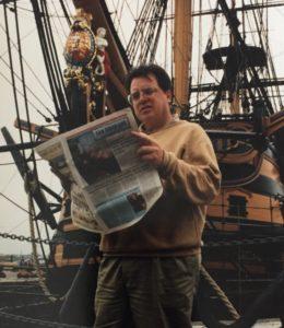 avid sailor Ken Spaulding
