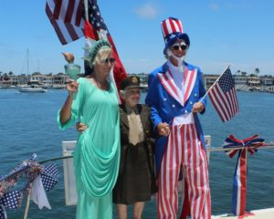 Newport Beach Fourth of July celebration