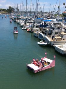 Oceanside Fourth of July dinghy parade