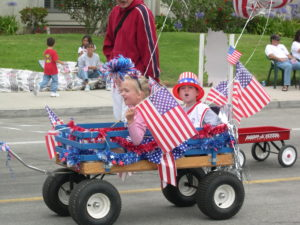 Children Fourth of July Parade Ventura County Harbor Department