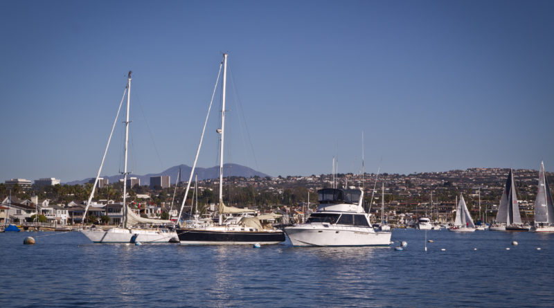 Newport Beach moorings