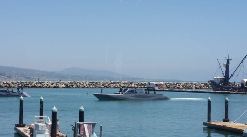 Mexican Navy stealth vessels visited Dana Point Harbor