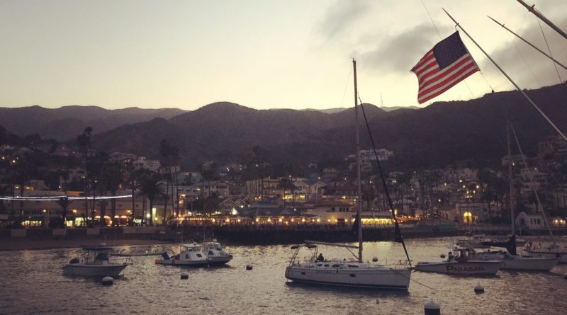 Brown berets occupying Catalina Island