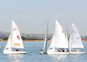 Olympic Festival San Diego sailing regatta
