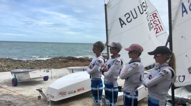 Optimist Worlds youth sailing competition