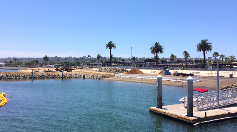 Port of San Diego Shelter Island boat launch ramp