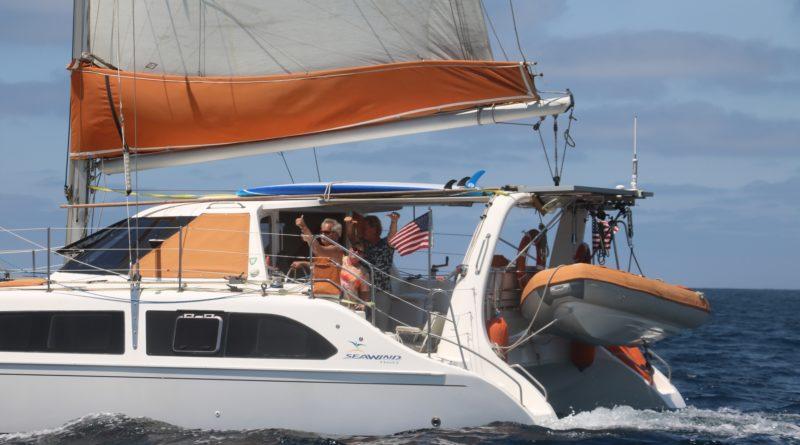 Isthmus Catalina Rally catamaran roundup