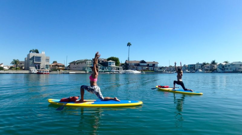 Sea Dog Yoga in the Channel Islands Harbor