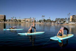 YOGAqua Marina del Rey Standup Paddleboard Yoga