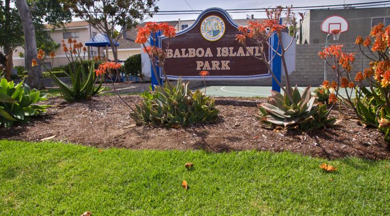 Newport Beach Balboa Island Park