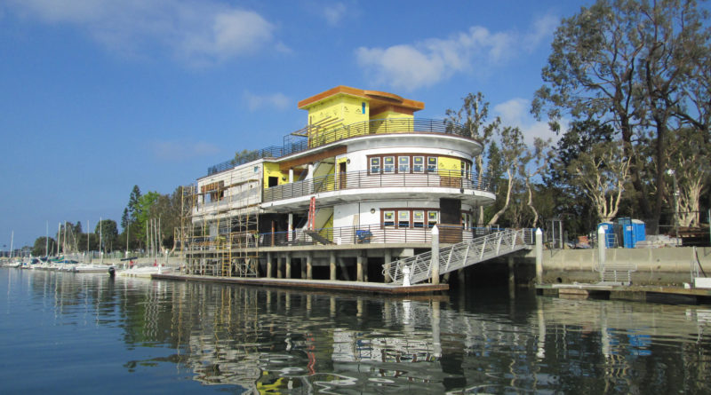 Boathouse in Marina del Rey