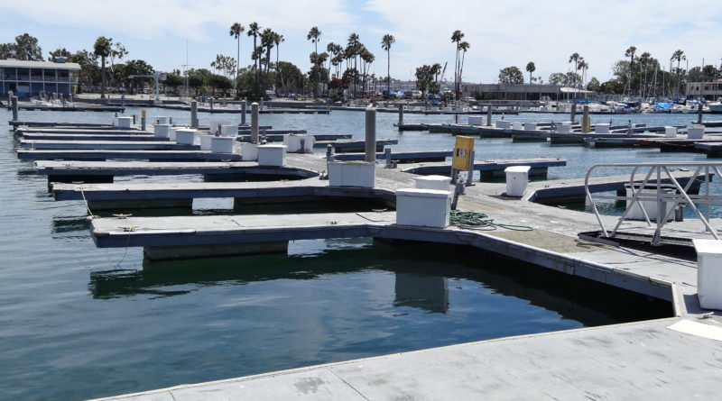 Marina del Rey boat docks
