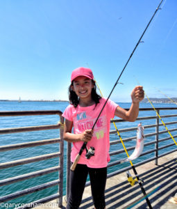 young anglers tournament Shelter Island pier San Diego