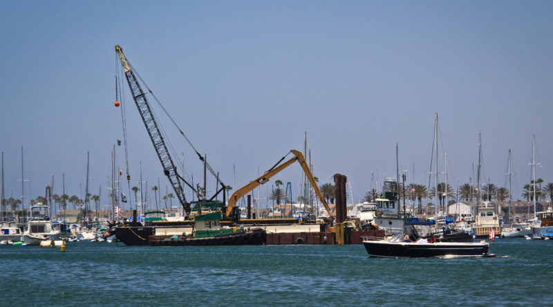 Newport Beach harbor deep water dredging