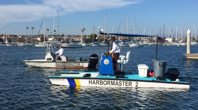 Newport Beach harbormaster vessels