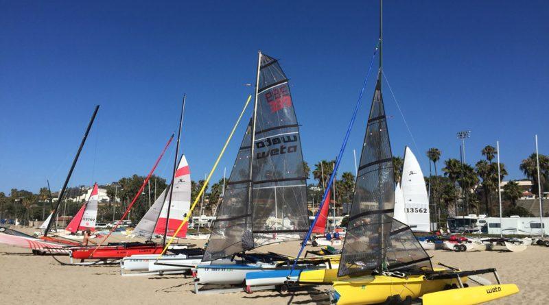 catamaran ocean race Santa Barbara