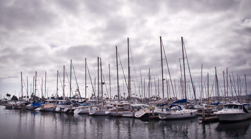 boat slips in San Diego Bay