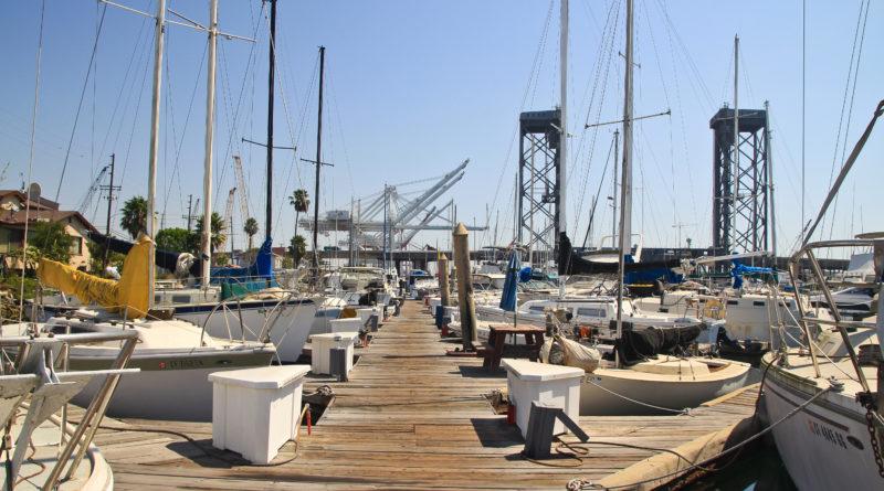Wilmington marina port of Los Angeles