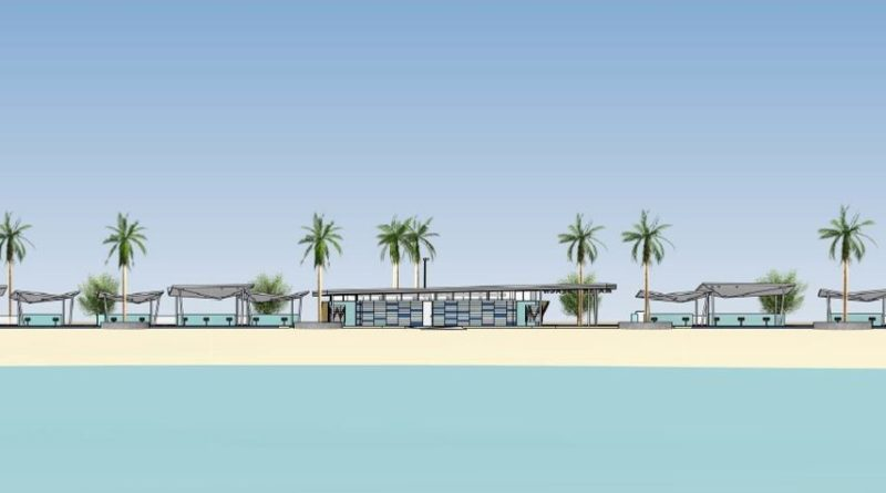 Marina Beach rendering
