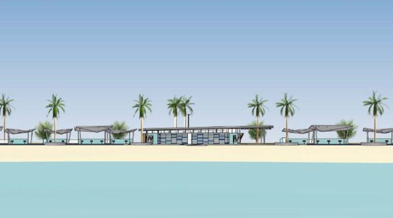 Marina Beach rendering