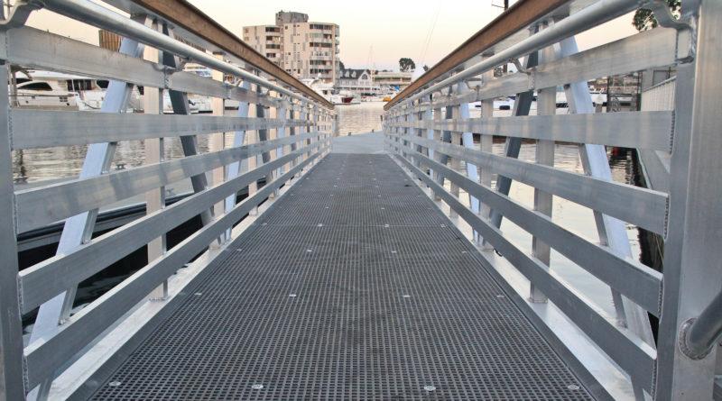 Central Avenue Pier ramp