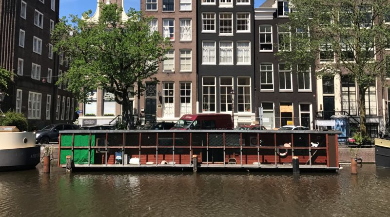 Cat shelter Boat Amsterdam