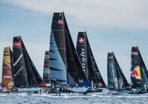 Extreme Sailing Series Barcelona Lloyd Images