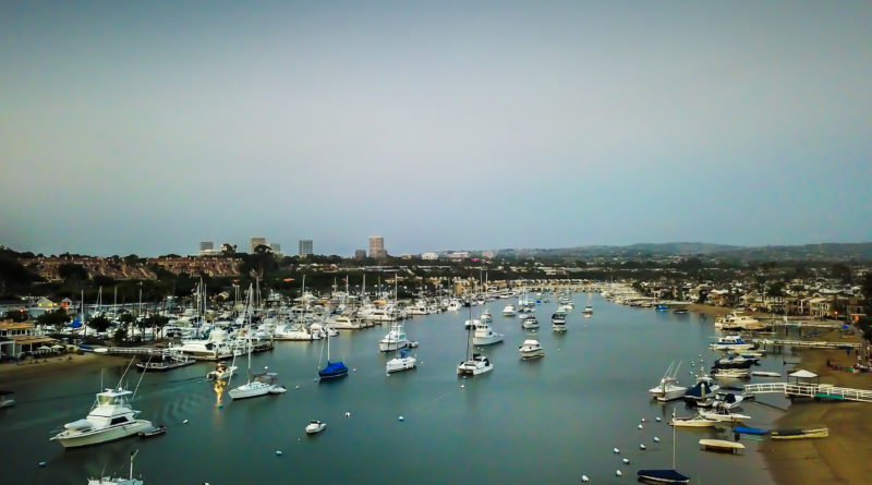 Newport Beach boat moorings