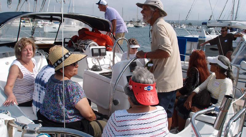 Visually Impaired Sail - Women's Sailing Association OC