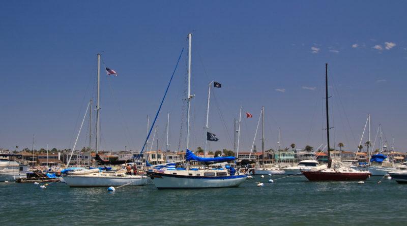 Newport Beach anchorage