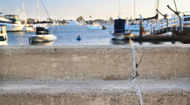 Balboa Island seawall