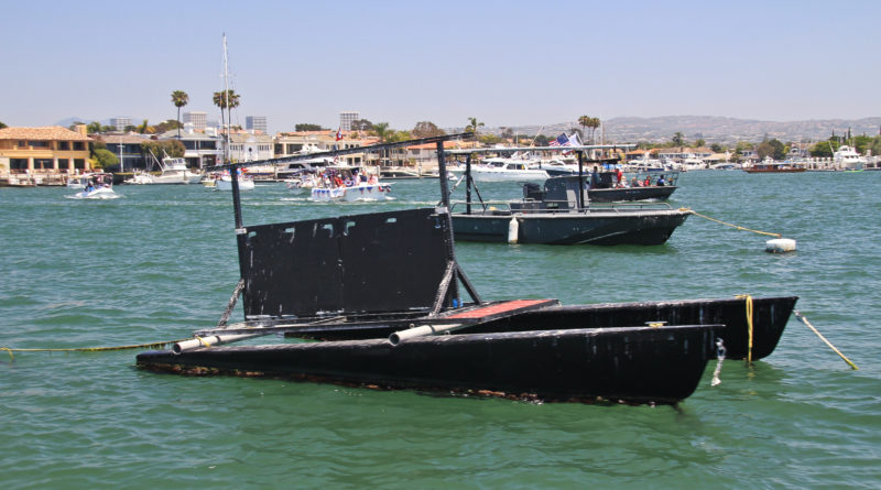 vessel in Newport Harbor