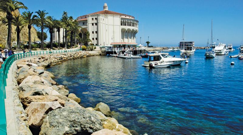 Catalina Island Avalon Fuel Dock Cafe
