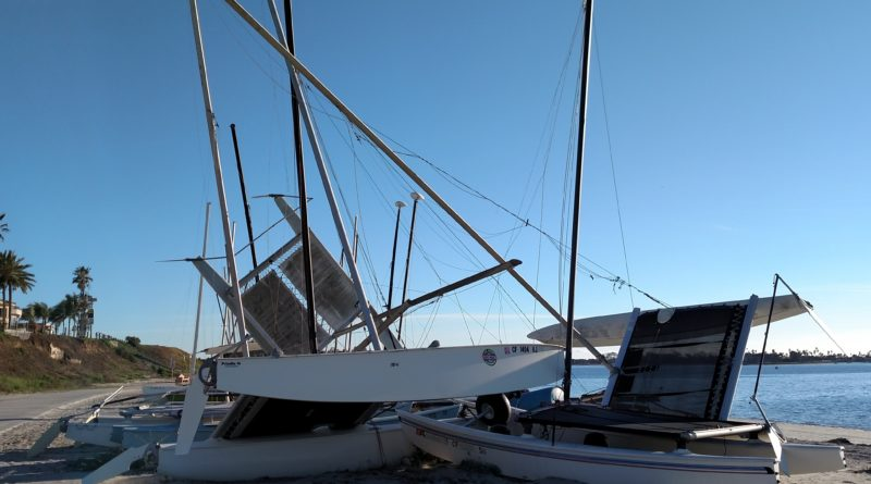 Storm-Damaged Boats