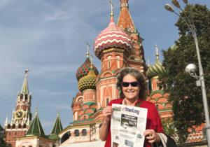 Navigating Through Red Square