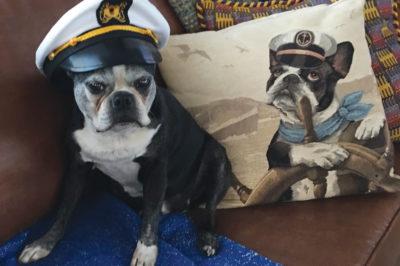 Captain Cooper aboard Pilar